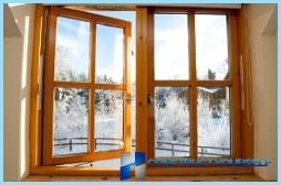 Isolamento termico delle vecchie finestre di legno per l 39 inverno con le loro mani - Isolare le finestre ...