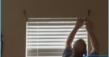 Come installare persiane sulla finestra con le mani
