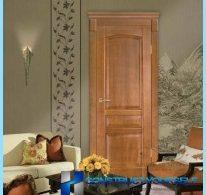 Porte interne in legno di pino