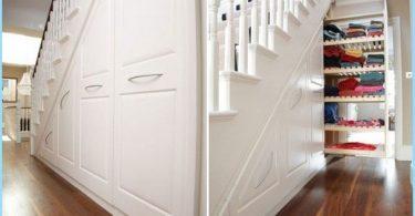 Quanto utile e ben organizzare il posto sotto le scale