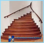 Finitura in legno scale di cemento, laminato