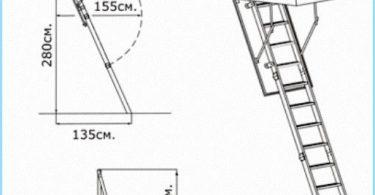 Installazione di scale retrattili con video