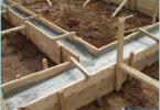 Le proporzioni del calcestruzzo per la fondazione