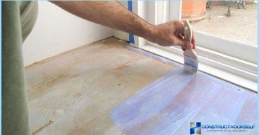 Come e cosa dipingere il pavimento