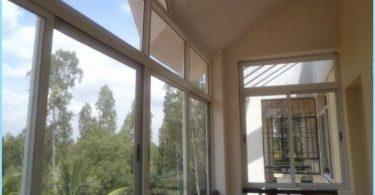 Scorrevoli finestre balcone
