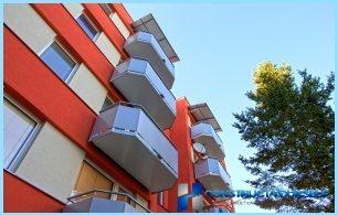Le differenze tra il balcone e una loggia