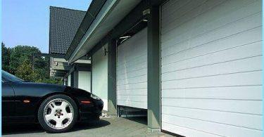 porte sezionali da garage di sollevamento