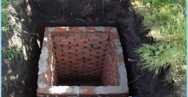 Costruzione di servizi igienici nel paese con le proprie mani