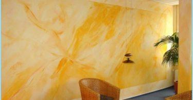 pittura ai silicati per interni ed esterni: la composizione, portata di 1 m2
