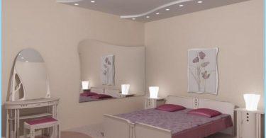 Design camera da letto in cartongesso del soffitto con le foto