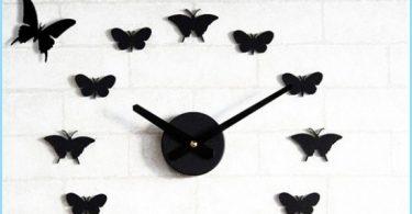 Come farfalle sul muro con le mani