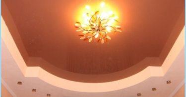 soffitto Design nella sala con le foto