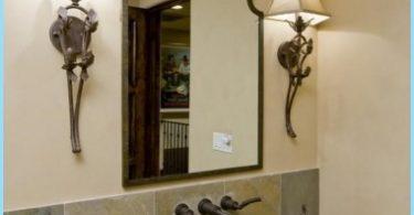 specchio design in bagno