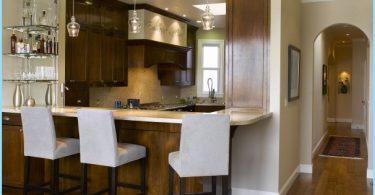 Cucina con bar per la colazione: Design moderno