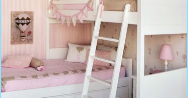 stanza del bambino per due ragazze