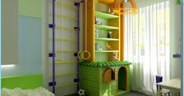 Area Sport in camera dei bambini