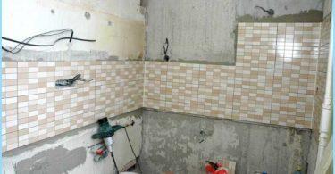 Il layout del cablaggio in bagno