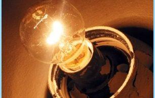 Motivi guizzo di luce in appartamento