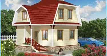 Utilizzando l'imbragatura tetto disegno mansarda