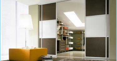 Specchio porta scorrevole per cabina armadio