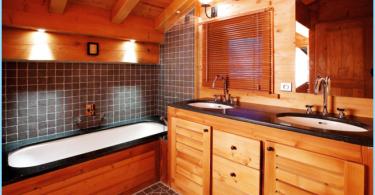 Come rendere la stanza da bagno in una casa di legno