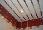 Come fare un soffitto cremagliera in bagno