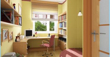 stanza studente di design moderno