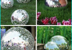L'uso del vetro per i viali del giardino: multicolore di vetro