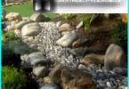 Dry Creek con le mani nel giardino e nel paese - un passo per passo dispositivo
